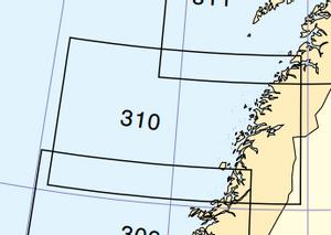Bilde av 310: Fra Leka til Sklinna/Vestfjorden