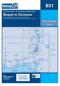 Bilde av B31: Grenadines Middle Sheet - Bequia To Carriacou