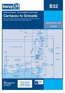 Bilde av B32: Grenadines Southern Sheet - Carriacou To Grenada